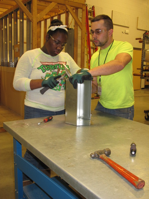 SMW 24 Participates in Construction Career Fair