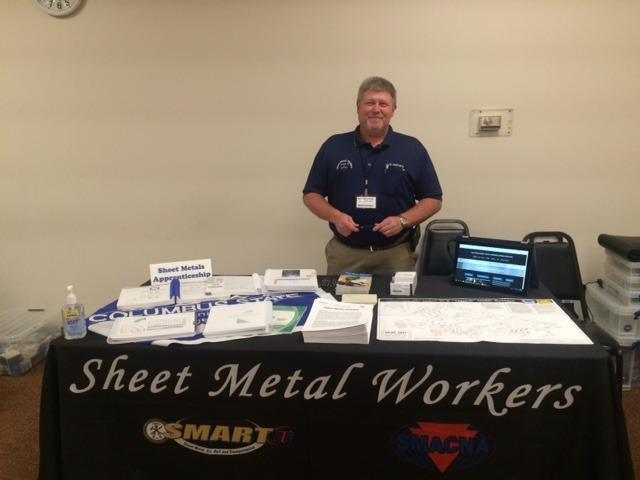 Local 24 Recruits Veterans at Job Fair