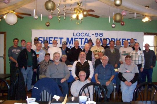Columbus Retiree's Breakfast Meeting
