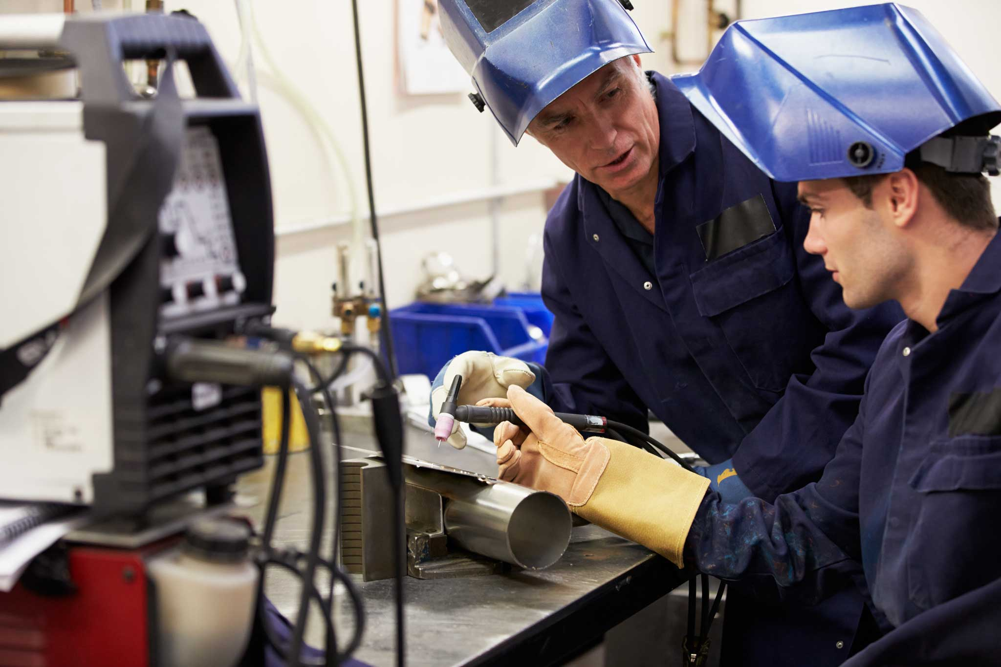 Apprentice Training for Sheet Metal Workers