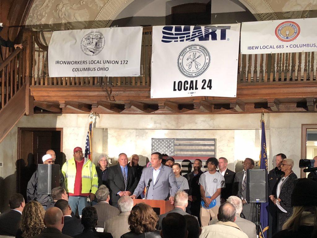 City Of Columbus Signs Historic Community Benefits