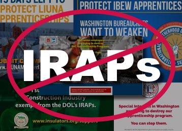 SMART Rallies against IRAPs